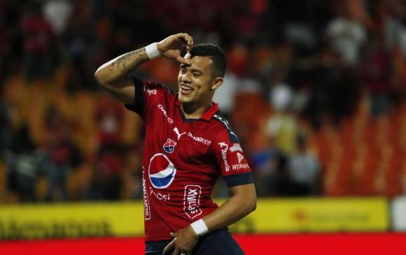 Leo Castro alentó la clasificación del DIM; no obstante, la suerte de los penaltis lo impidió. Clasificó Tolima. FOTO Robinson Sáenz