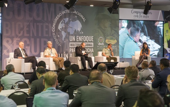 Representantes de 23 países, afectados por la producción y consumo de drogas, se dieron cita en Medellín para buscar nuevas estrategias en la lucha contra ese flagelo. FOTO Carlos Velásquez