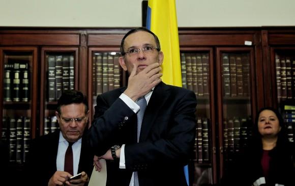 Efraín Cepeda, presidente del Senado, tiene tres días para impugnar la acción de cumplimiento. FOTO: Colprensa