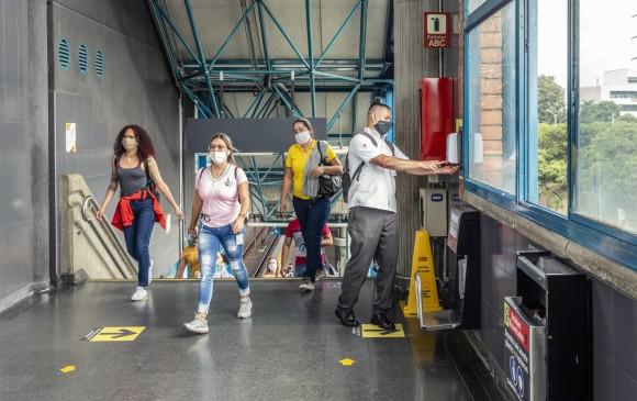 Estos nuevos puntos fueron adecuados en las en estaciones de alta afluencia como Parque Berrío, San Antonio, Alpujarra, Exposiciones, Poblado. FOTOS: Cortesía Metro de Medellín.
