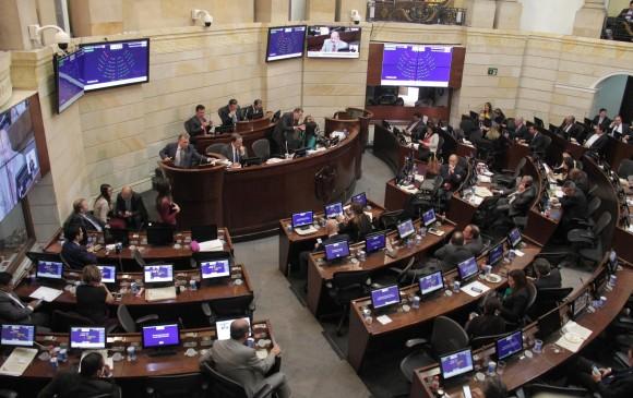 La Plenaria del Senado. FOTO COLPRENSA