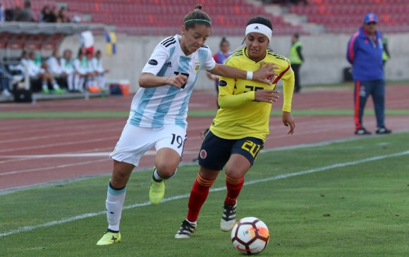 Colombia deberá derrotar a Chile para no quedar eliminada de las aspiraciones mundialistas y olímpicas. FOTO: CONMEBOL.