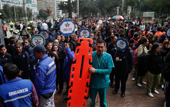 Santos invita a los colombianos a participar en el quinto Simulacro Nacional