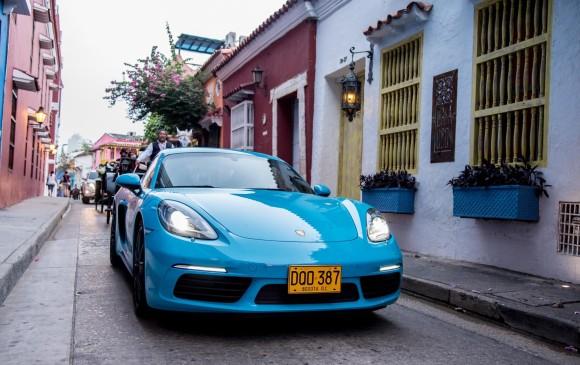 Porsche ha venido celebrando su aniversario 70 con numerosas actividades en los países en los que se comercializa la marca. En Colombia fue en Cartagena, la semana pasada. FOTO cortesía marca