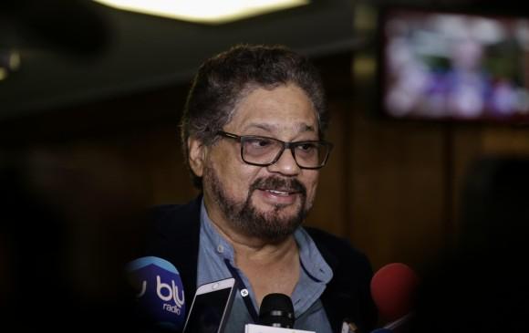 Iván Márquez, número dos de las FARC, declinó asumir como congresista
