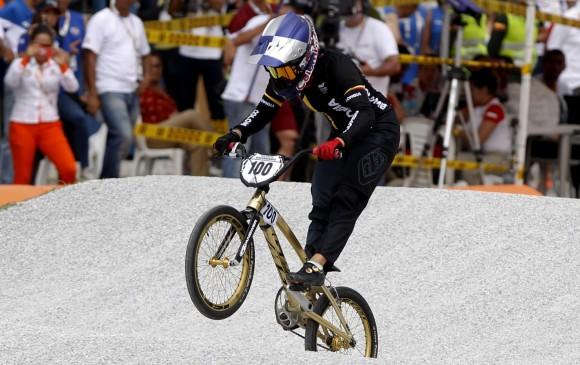Mariana Pajón, gana oro en la contrarreloj individual del bicicross
