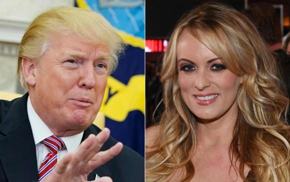 Actriz porno dijo que fue amenazada para callar presunta aventura con Trump