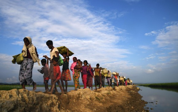 La cantidad de información y de material que se está recolectando es concreta y apabullante, dijo el presidente de la Misión de Investigación sobre Birmania, Marzuki Darusman. FOTO AFP
