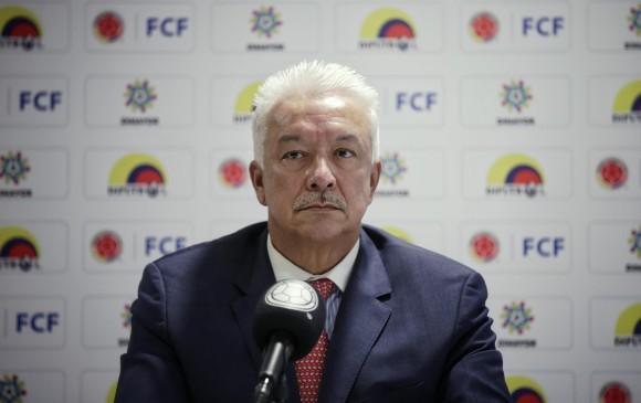 Jorge Perdomo, presidente de Dimayor. FOTO COLPRENSA