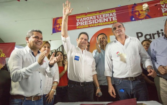 Vargas Lleras se concentra ahora en dialogar con los conservadores para que se adhieran a su candidatura. FOTO COLPRENSA