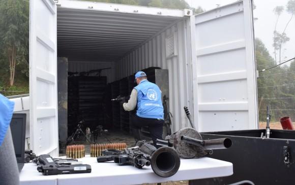 Habrá acto final de inhabilitación de armas de las Farc — Misión ONU