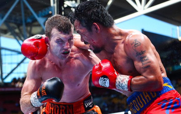 Boxeador australiano dio la sorpresa al derrotar a Manny Pacquiao
