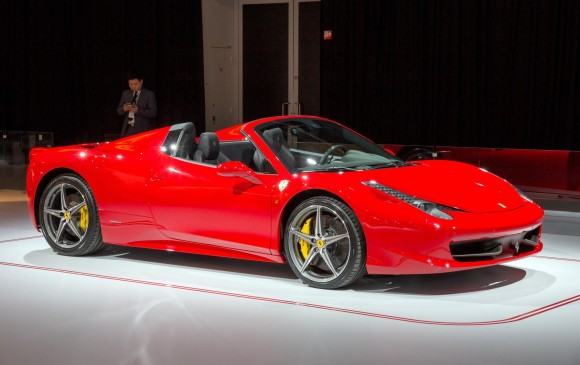 FOTO Ferrari 458 Spider