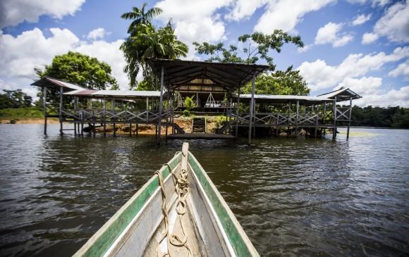 Así es la ciénaga de Bojayá, el tesoro del río Atrato
