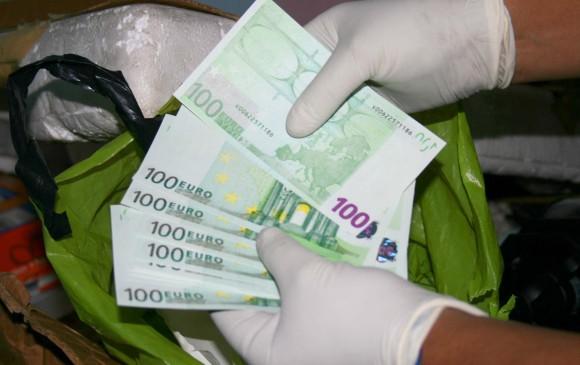 Lo capturaron con más de 150 mil euros en un aeropuerto