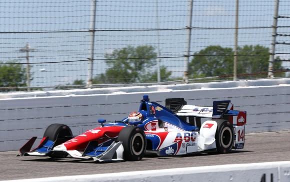 Juan Pablo Montoya saldrá quinto en el Gran Premio de Indianápolis