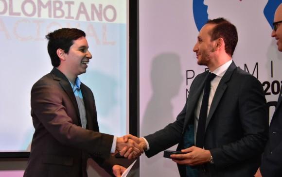 Alberto Mario Moros, ganador juvenil.