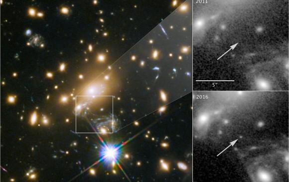 Descubren a Icarus, la estrella más lejana jamás observada hasta ahora
