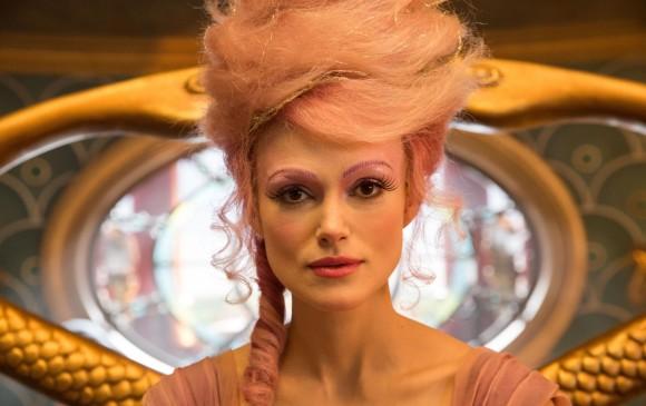 El maquillaje de Sugar Plum puede ser una idea para halloween, es sencillo y muy claro en el detalle en las cejas. FOTO Cortesía Laurie Sparham/Disney Enterprises