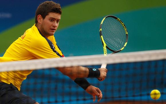 Nicolás Mejía excluido del equipo colombiano de Copa Davis