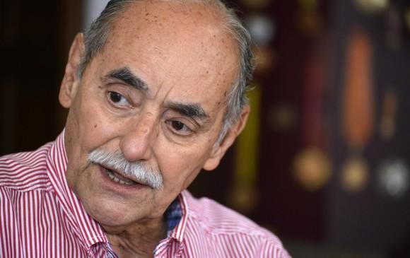El senador y copresidente del Partido Liberal, Horacio Serpa, salió al paso de las críticas de la dirigencia del uribismo. FOTO COLPRENSA