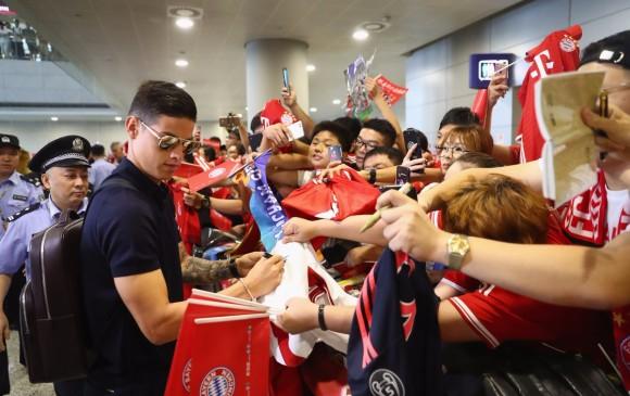 """James Rodríguez debuta en el Bayern en un amistoso"""""""