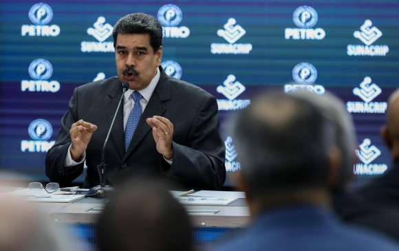 """La llamada revolución bolivariana le achaca a Duque la protección de """"los autores intelectuales y materiales del probado magnicidio frustrado"""" contra Maduro. Foto EFE"""