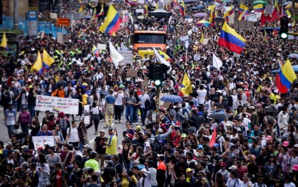 Sin acuerdo cerró reunión entre Comité de Paro en Colombia y gobierno