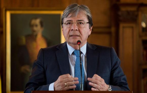 Canciller viajó a Europa para pedir ayuda con la crisis venezolana