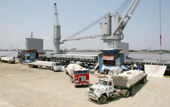 Solo durante el mes de marzo, se movilizaron 232.670 toneladas de carga por el río Magdalena. FOTO Colprensa