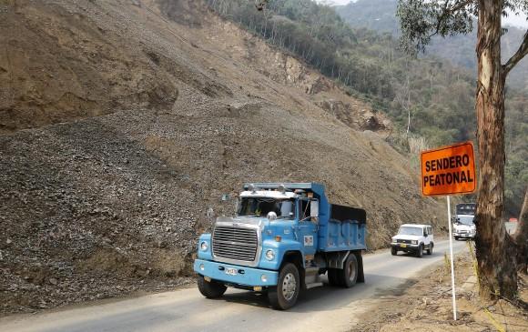 Fragilidad de laderas, trampa para movilidad hacia Medellín