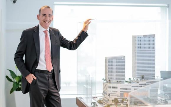 Juan Pulido, presidente de la compañía, habló de cuál es el estado de los proyectos comerciales y de vivienda que tiene la firma en Cartagena, Bogotá, Barranquilla y Santa Marta. FOTO cortesía