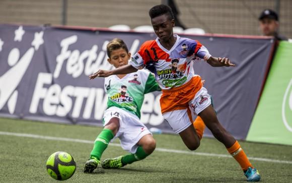 Jhoan Andrés Mena (#11) abrió el marcador en la victroria 2-0 de El Salado ante El Pescado. FOTO carlos alberto velásquez