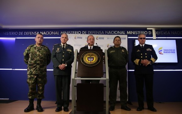 1.160 funcionarios de la Policía han sido capturados por distintos delitos: Mindefensa