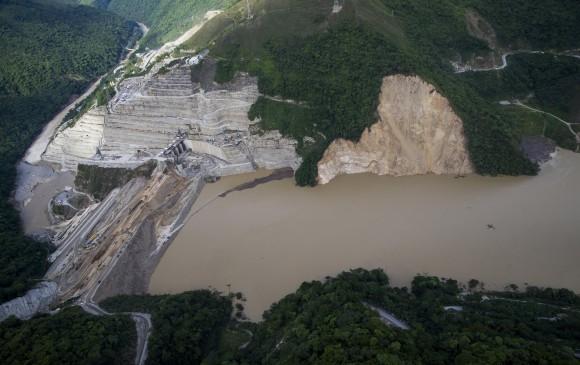 El proyecto Hidroeléctrico Ituango estaba presupuestado para iniciar operación en noviembre de 2018. La emergencia presentada en la zona de obras le generaría un retraso de mínimo tres años. Foto: Esteban Vanegas