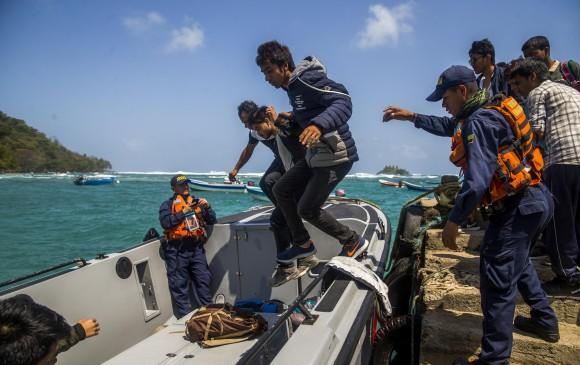 Tragedia en Capurganá: Armada busca por mar y aire a náufragos desaparecidos