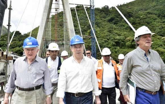 Desplome de puente en construcción en la vía Bogotá - Villavicencio