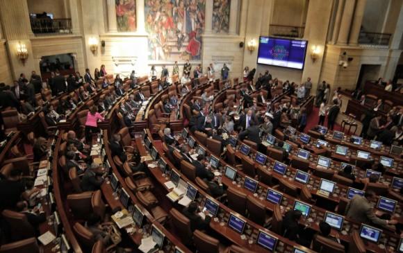 El presidente electo, Iván Duque, tendrá amplias mayorías tanto en el Senado como en la Cámara de Representantes. FOTO colprensa