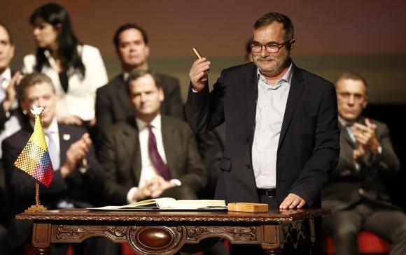 Blinda Colombia acuerdo de paz con las FARC