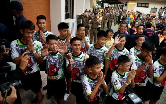 Hablaron los chicos rescatados en Tailandia: