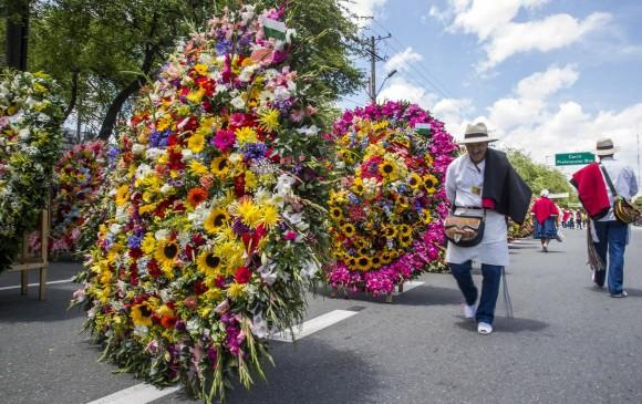 02f0ff9e2 Recorrido en la Avenida Guayabal en el Desfile de Silleteros en la Feria de  las Flores