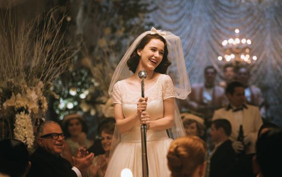 La maravillosa Sra. Maisel es protagonizada por Rachel Brosnahan. FOTO Cortesía.