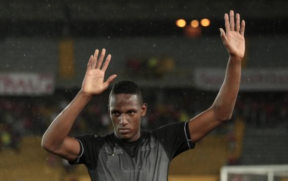 Yerry Mina se despidió de Independiente Santa Fe el pasado sábado ...