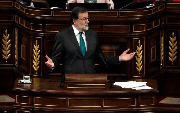Mariano Rajoy. FOTO AFP