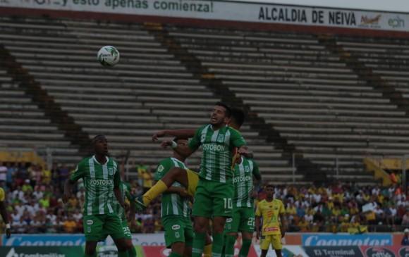 Pablo Cepellini (# 10) es el sexto jugador que convierte gol con Paulo Autuori en el mando. FOTO colprensa