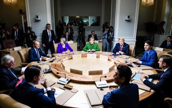 Trump revienta contra Trudeau y aliados de la OTAN