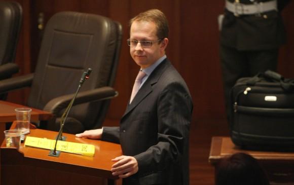 Andrés Felipe Arias exministro de Agricultura