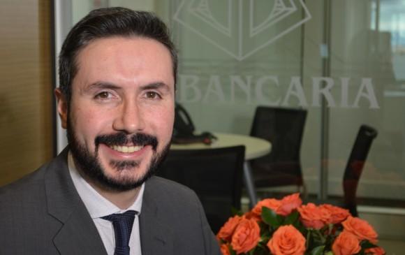 Felipe Noval, líder de la nueva Dirección de Leasing en la Asociación Bancaria de Colombia (Asobancaria). FOTO cortesía