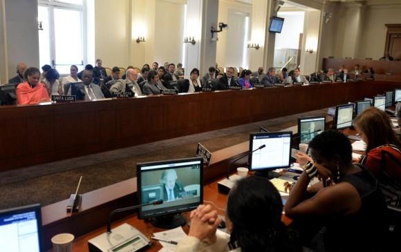 Los embajadores ante la OEA rechazaron este lunes la solicitud colombiana de convocar a una reunión de cancilleres para estudiar la crisis con Venezuela. FOTO CORTESÍA