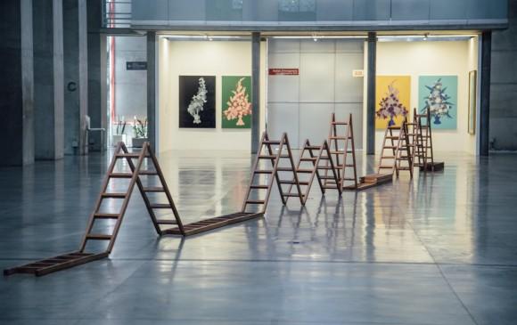 Escalera (2016) en la exhibición del Mamm este año. FOTO Andrés camilo suárez y cortesía